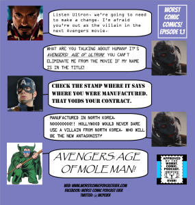 Worst Comic Comics Episode 1.1 - Ultron, You're Out
