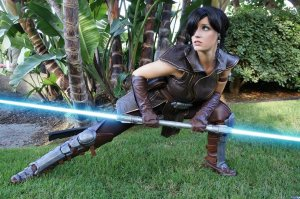 Satele Shan from The Old Republic Game