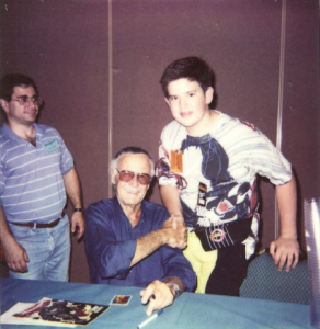 Jeff Balke and Stan Lee