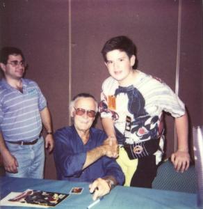 Jeff Balke and Stan Lee