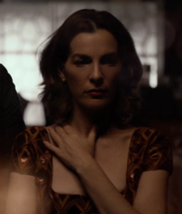 Ayelet Zurer is magnetic as Vanessa ... the Kingpin's love interest