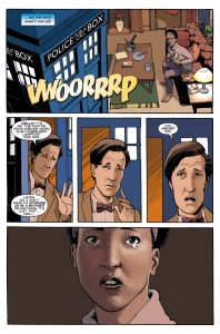 The Eleventh Doctor #1 pic3