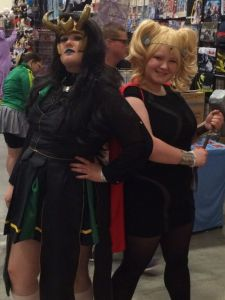 OCC Cosplay Lady Thor & Lady Loki