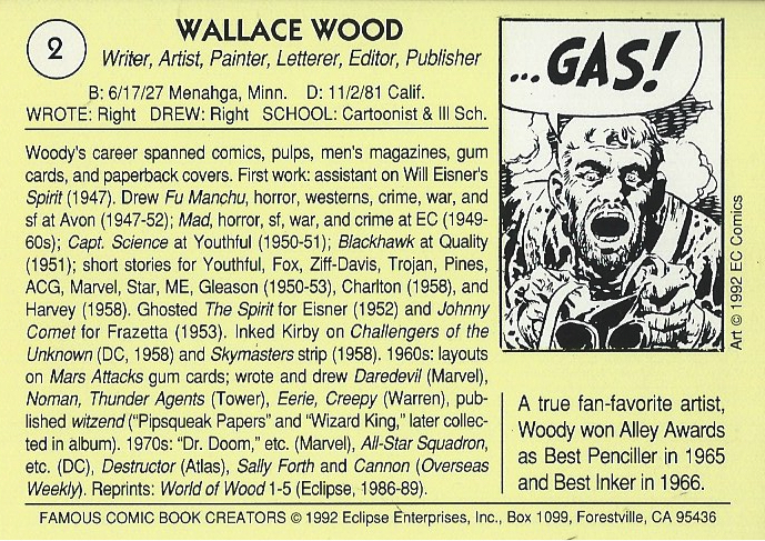 Comic Cards Cavalcade episode 16-5