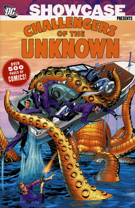 showcase_presents_challengers_unknown_volume_1