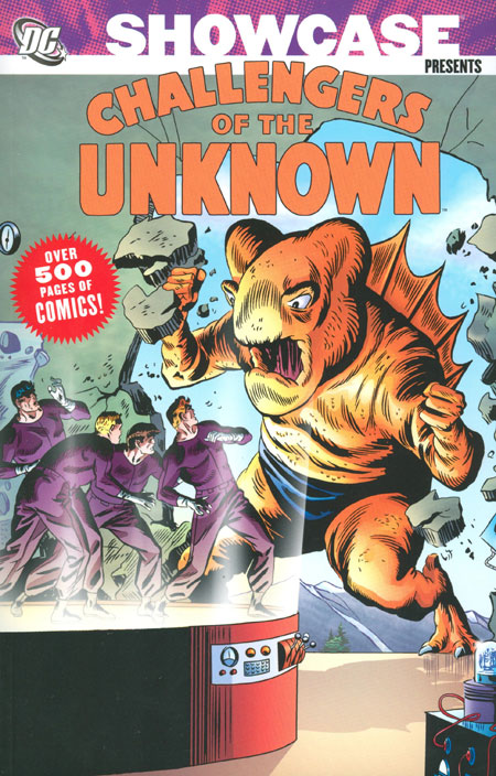 showcase_presents_challengers_unknown_volume_2