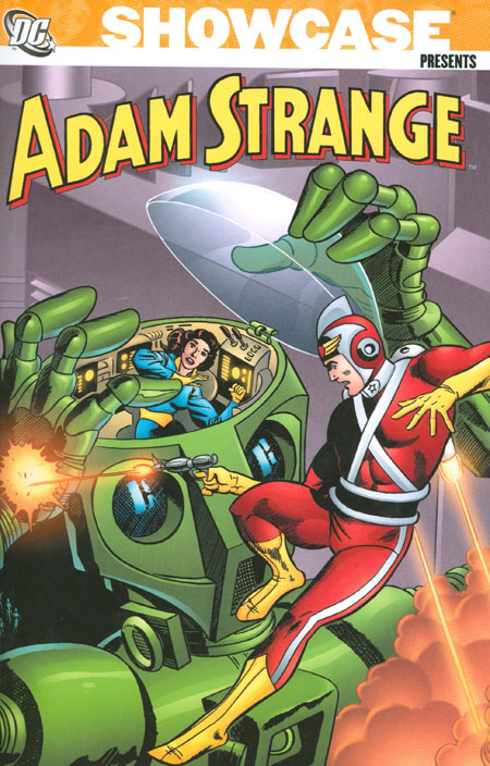 showcase_presents_adam_strange_volume_1